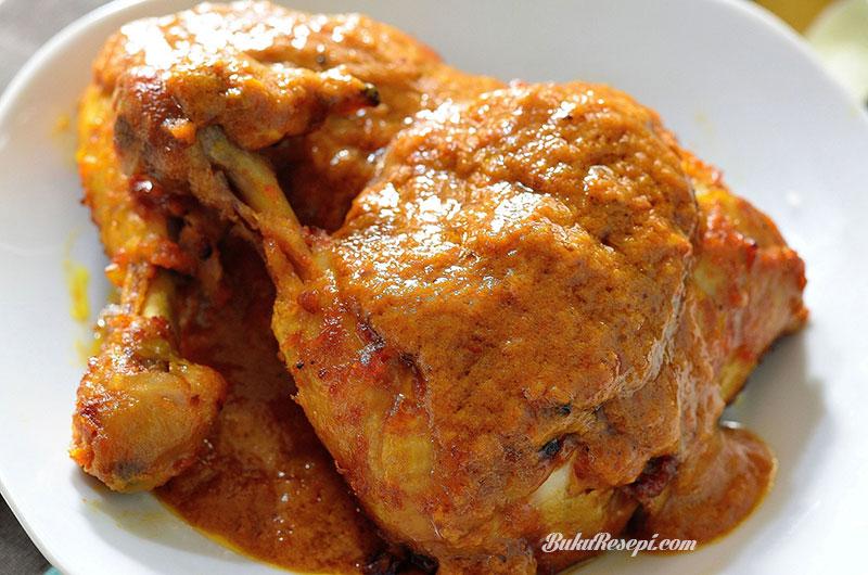 Kongsi  Resepi  Ayam  Masak  Merah